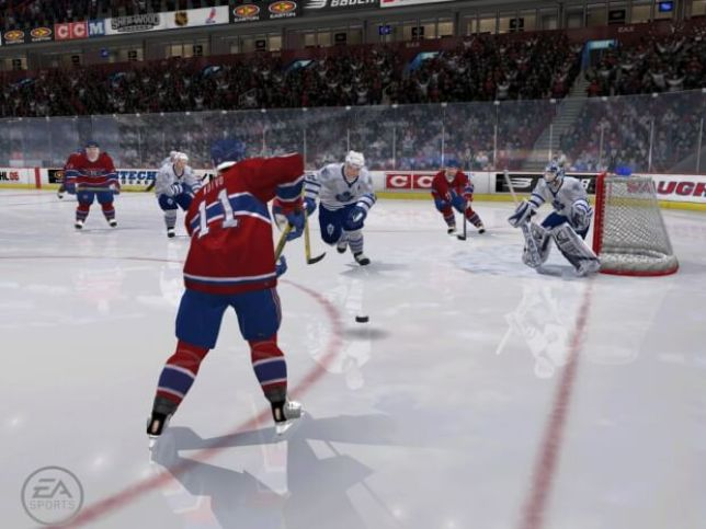 NHL 06 Video Gameplay