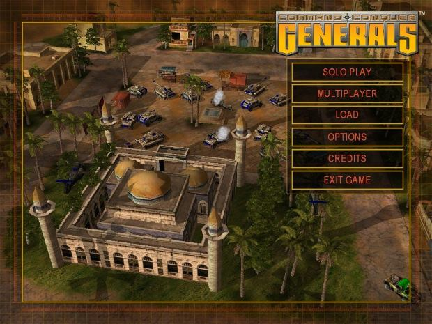 Command & Conquer Generals Video Gameplay