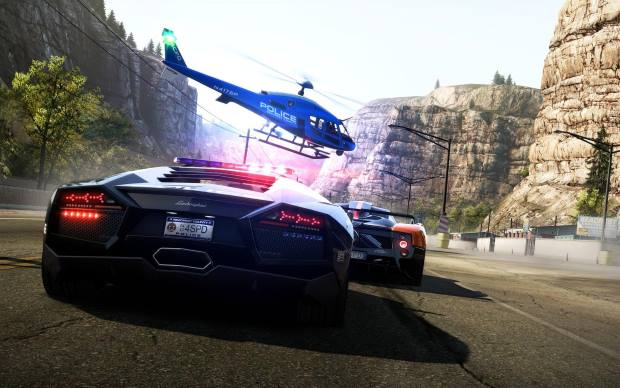 Need for Speed Hot Pursuit 2010 Video Gameplay