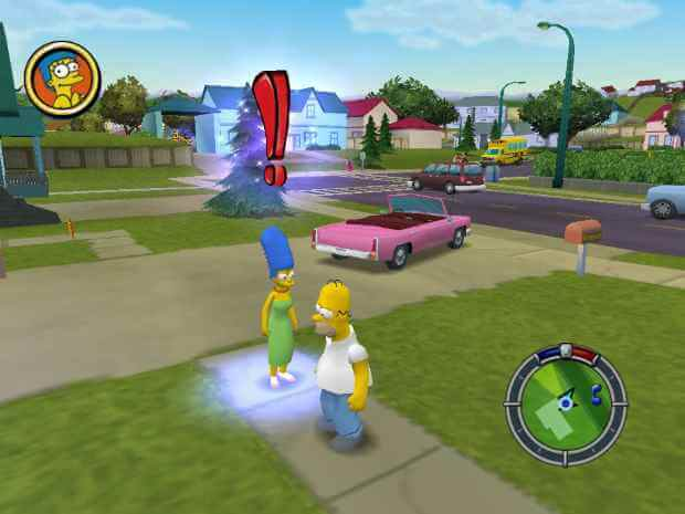 The Simpsons Hit & Run Video Gameplay