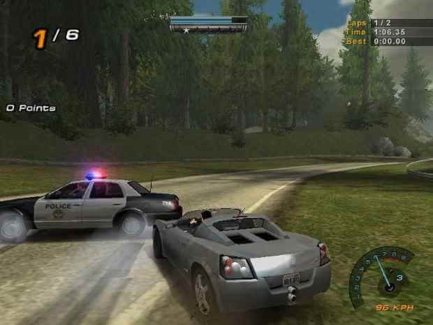 Need for Speed 3 Hot Pursuit Screenshot