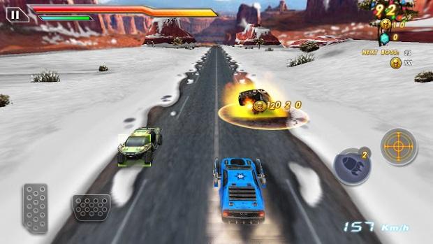 Crash And Burn Racing Video Game