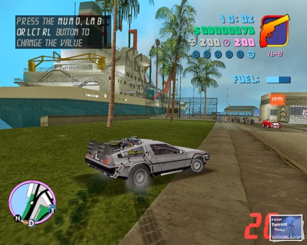 GTA Vice City Back to the Future Hill Valley Screenshot