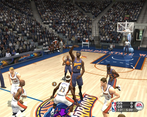 NBA Live 2004 Video Game