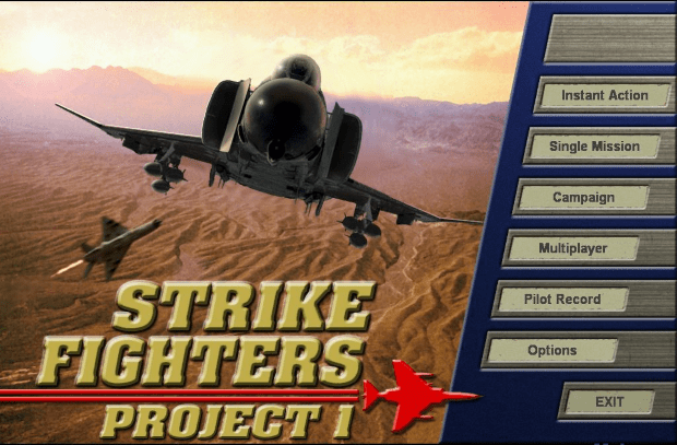 Strike Fighters Project 1 Free Full Version