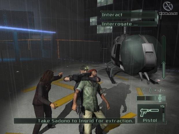 Tom Clancys Splinter Cell Pandora Tomorrow Video Game