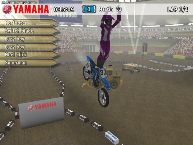 Yamaha Supercross Full Version