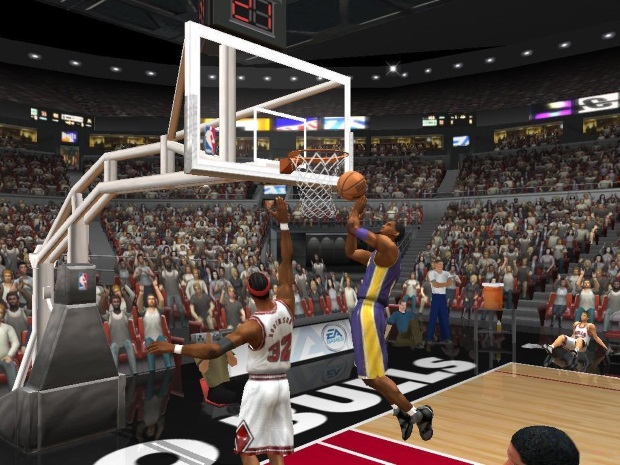 NBA Live 2003 Screenshot