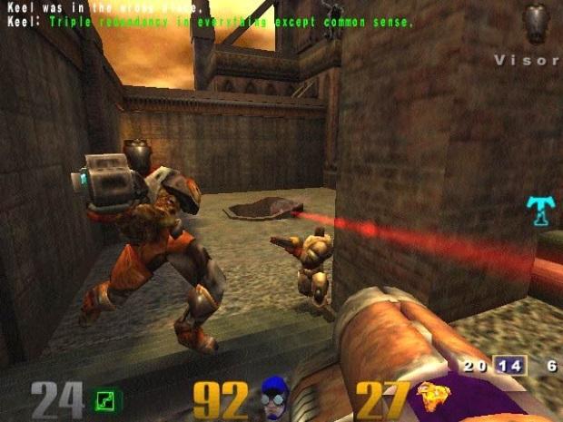 Quake 3 Arena Screenshot