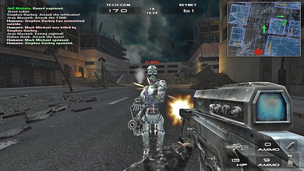 Terminator 3 War Of The Machines Video Game