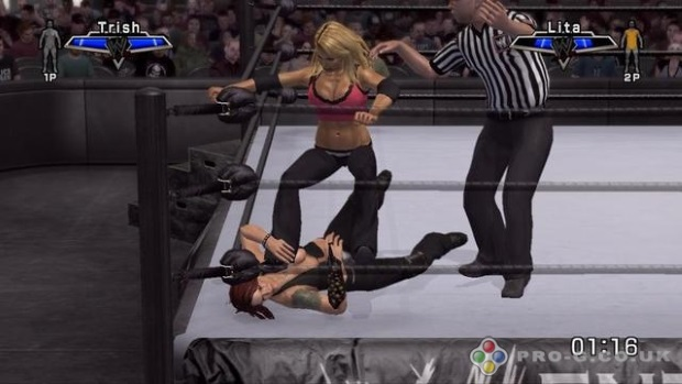 WWE SmackDown vs Raw 2007 Screenshot