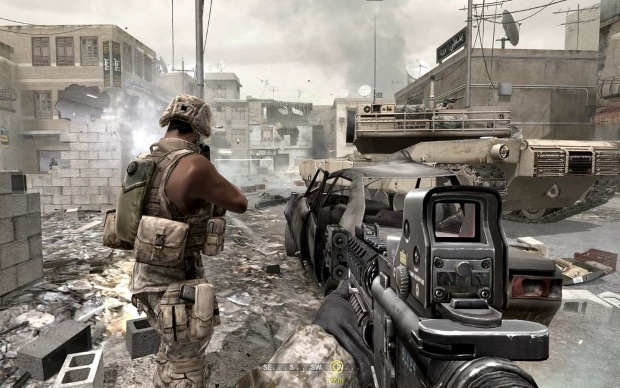 Call of Duty 4 Modern Warfare Screenshot
