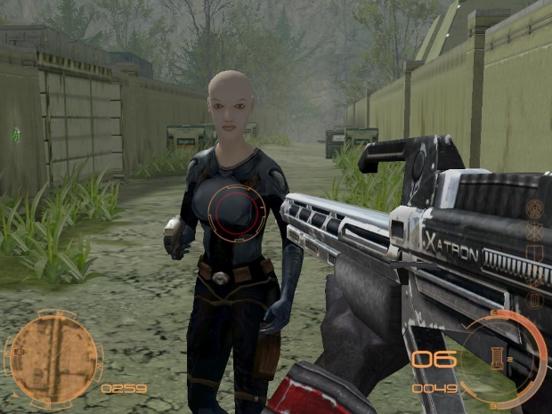 Chrome SpacForce Video Game