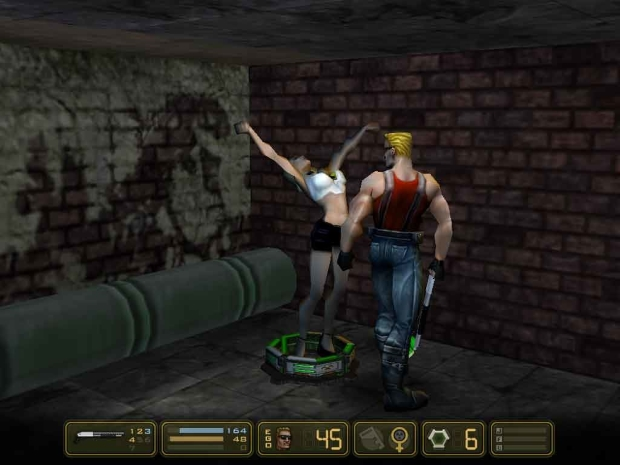 Duke Nukem Manhattan Project Video Game