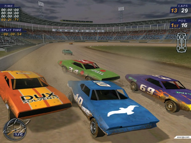 Dirt Track Racing 2 Video Game