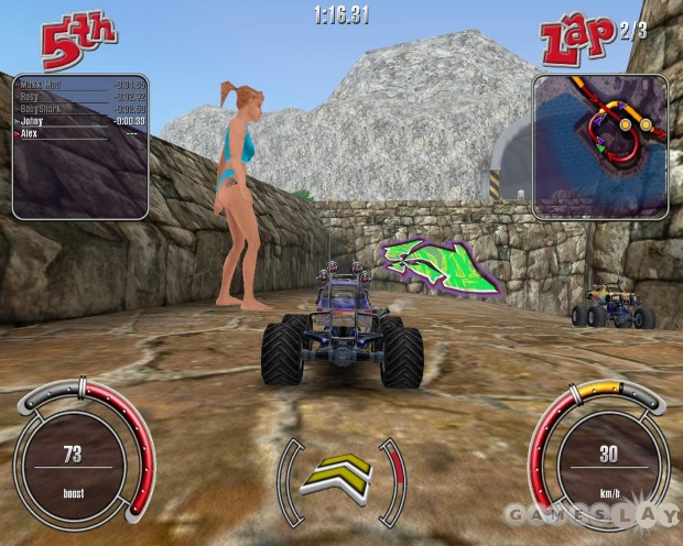 RC Cars Video Game