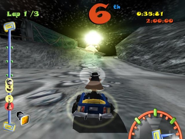 Toon Car Video Game