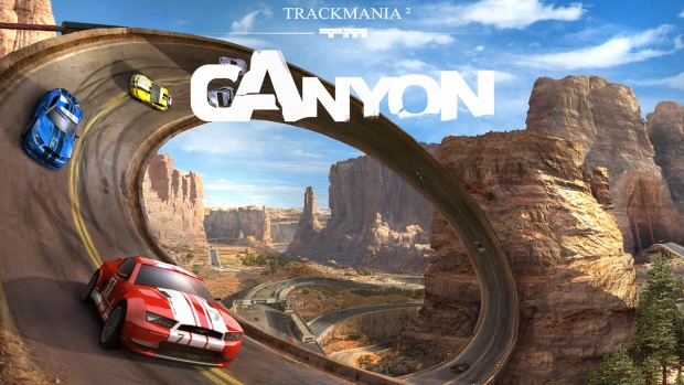 Trackmania 2 Canyon Screenshots