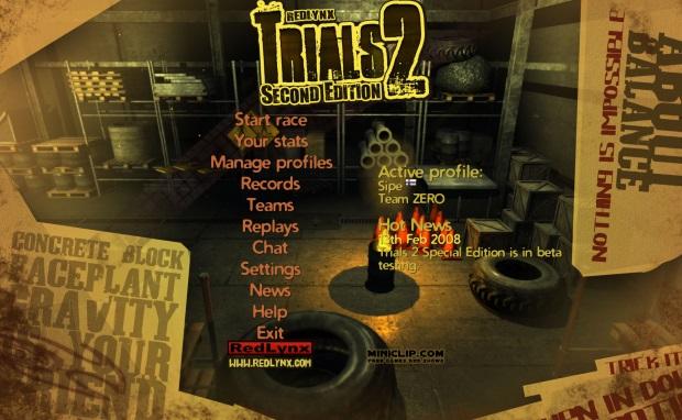 Trials 2 Second Edition Screenshots