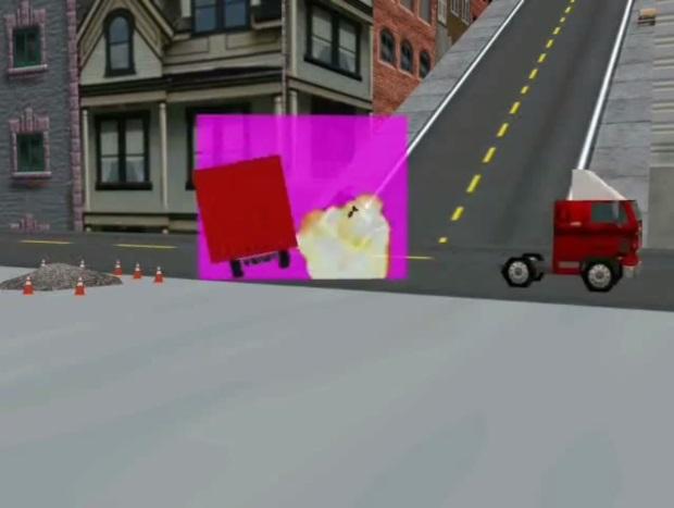Hot Wheels Crash Screenshots