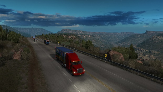American Truck Simulator Video Game