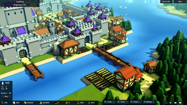 Kingdoms and Castles Merchants and Ports Video Game