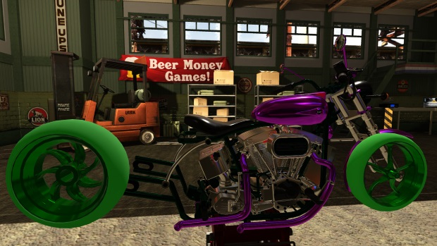 Motorbike Garage Mechanic Simulator Full Version