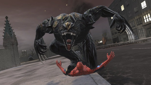 Spider Man Web of Shadows Video Game