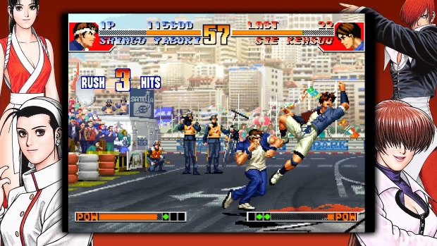 THE KING OF FIGHTERS 97 GLOBAL MATCH Screenshots