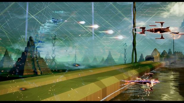 HyperFighter Boost Mode ON Screenshots