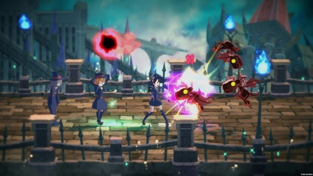 Little Witch Academia Chamber of Time Video Game