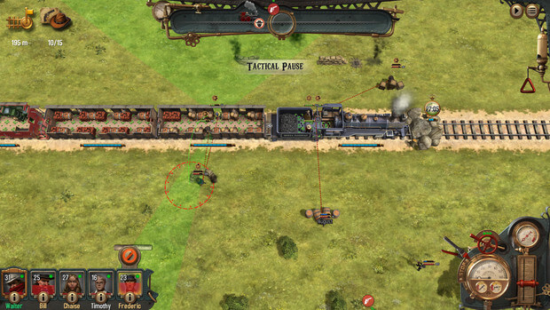Bounty Train New West Video Game