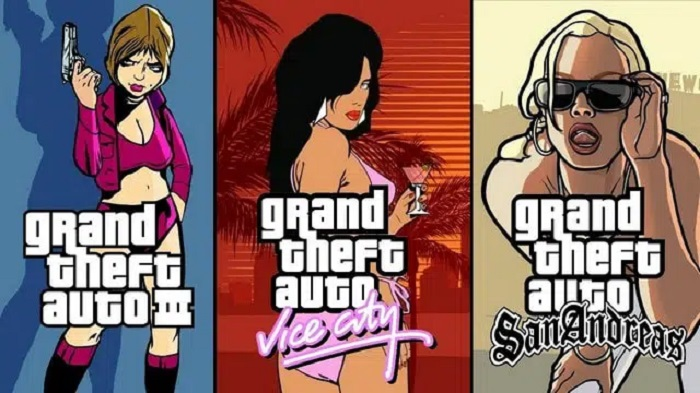PS5: the GTA 3, Vice City and San Adreas trilogy soon to be remastered?
