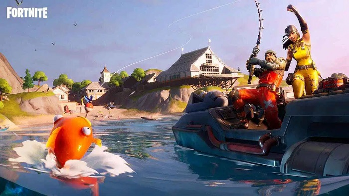 Fortnite: how to catch a weapon while fishing in the video game?