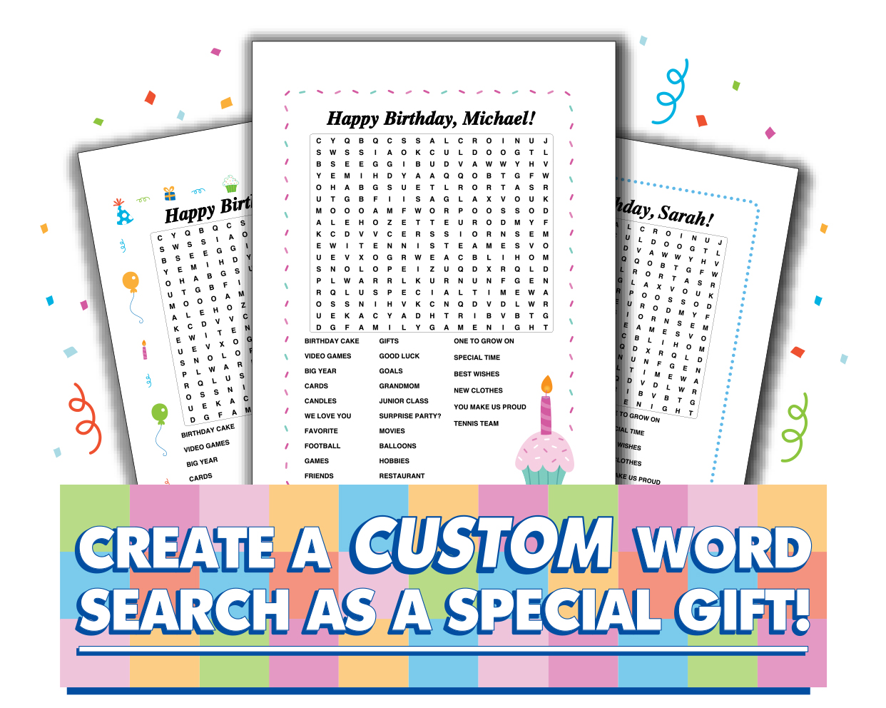Map Items Word Search