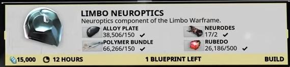 Limbo Neuroptics