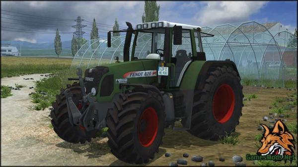 Fendt 930 820 187 GamesModsnet FS17 CNC FS15 ETS 2 mods