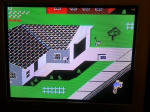 image of nes paperboy gameplay