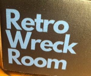 retro wreck room close up of box