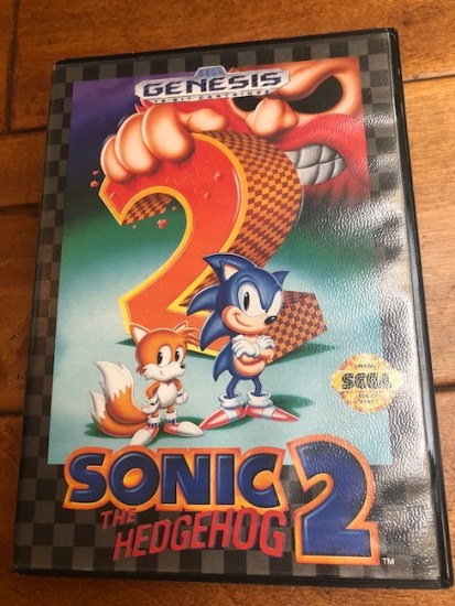 image of sonic 2 for sega genesis