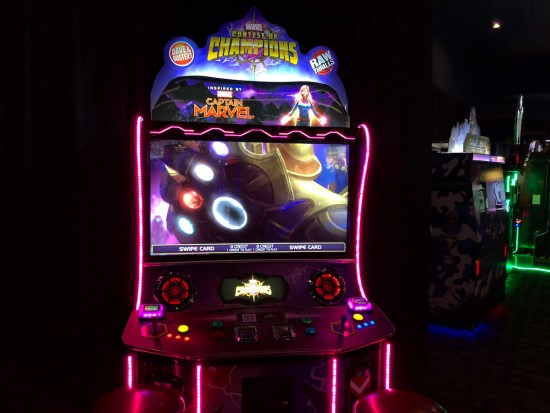 Marvel contest of champions arcade game