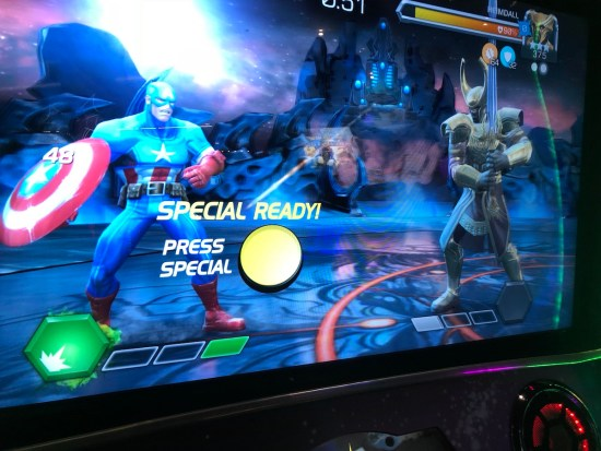 special attack ready on MCoC arcade game