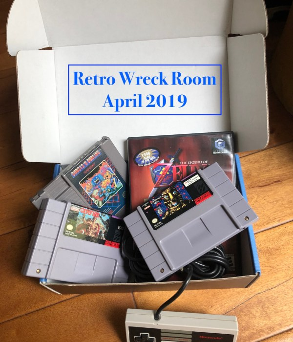 Retro Wreck Room April 2019 Box Review