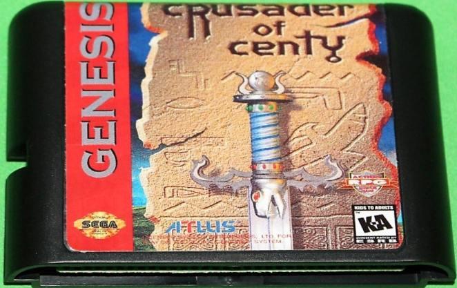 Crusader of Centy sega genesis