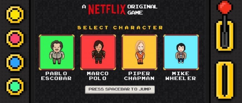 Netflix videogame