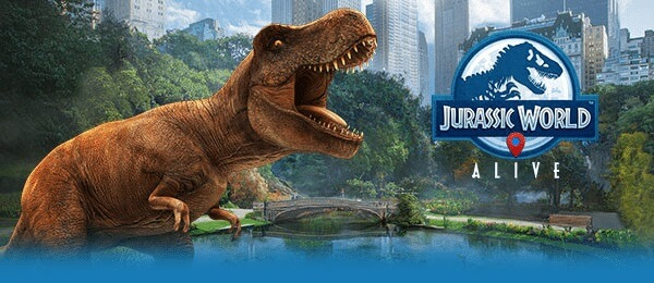 jurassic world alive app android e ios