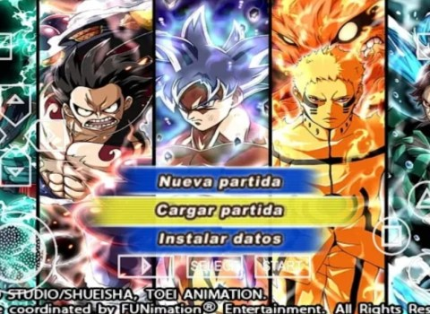 DBZ TTT Crossover PSP MOD Download for Android