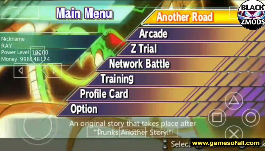 More About DBZ Shin Budokai 2 The Overise PPSSPP