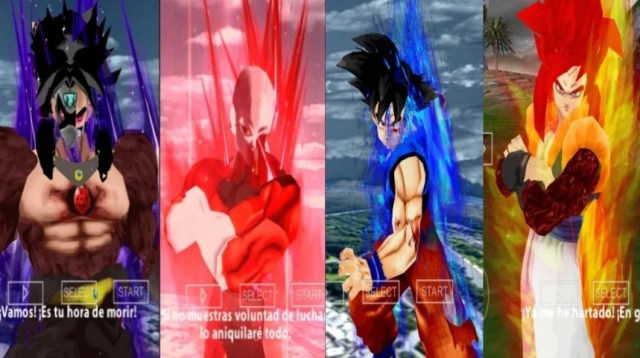 Jump Force ISO PPSSPP Characters