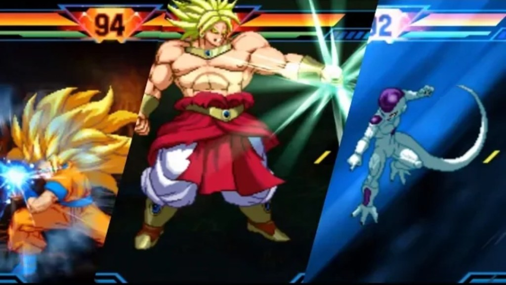 Characters in Dragon Ball Z Extreme Butoden
